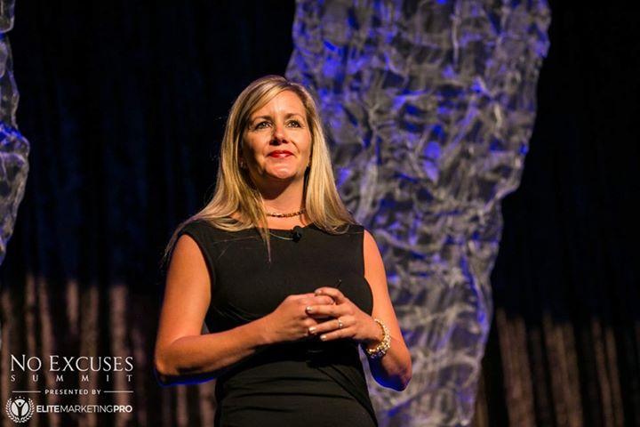 Brandy coaching at No Excuses Summit