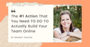 #1 Superb Action That You Need TO DO TO Actually Build Your Team Online 💯