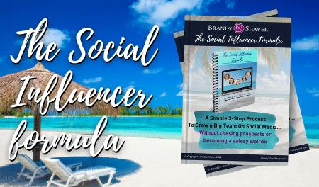 The Social Influencer formula